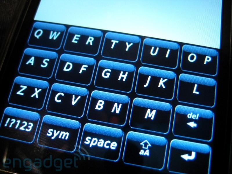 blackberry storm 2 keyboard - photo #10