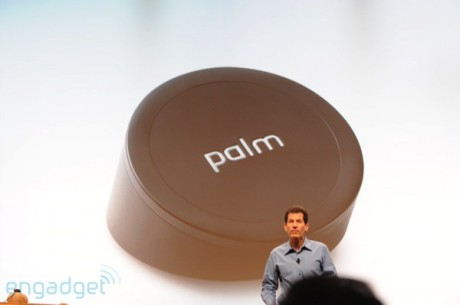 Palm's new wireless charger, the Touchstone