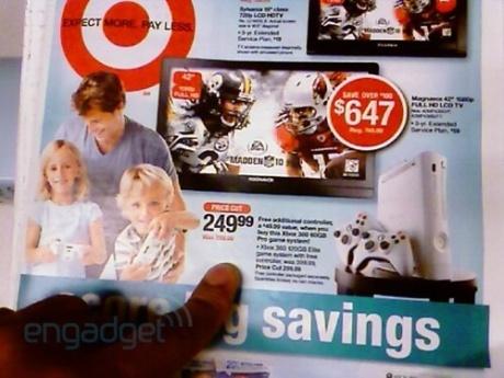 target xbox 360 price cut