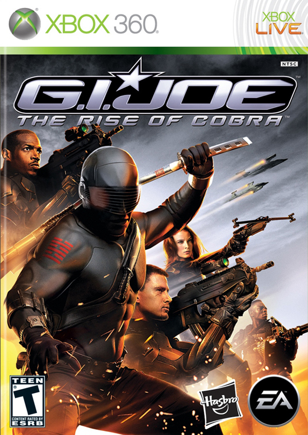 gi joe xbox 360 cover