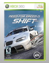 Need for speed shift xbox 360 cover