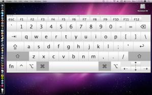 snow leopard onscreen keyboard